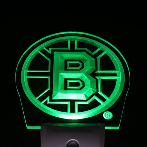 Boston Bruins LED Night Sign