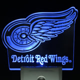 Detroit Red Wings Led Night Light Sign
