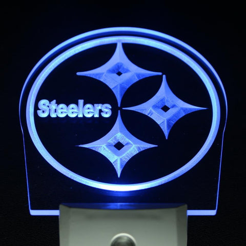 Pittsburgh Steelers Day/ Night Sensor Led Night Light Sign