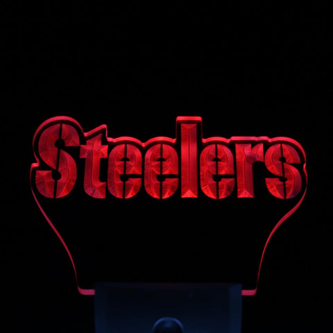 Pittsburgh Steelers Bar Day/ Night Sensor Led Night Light Sign