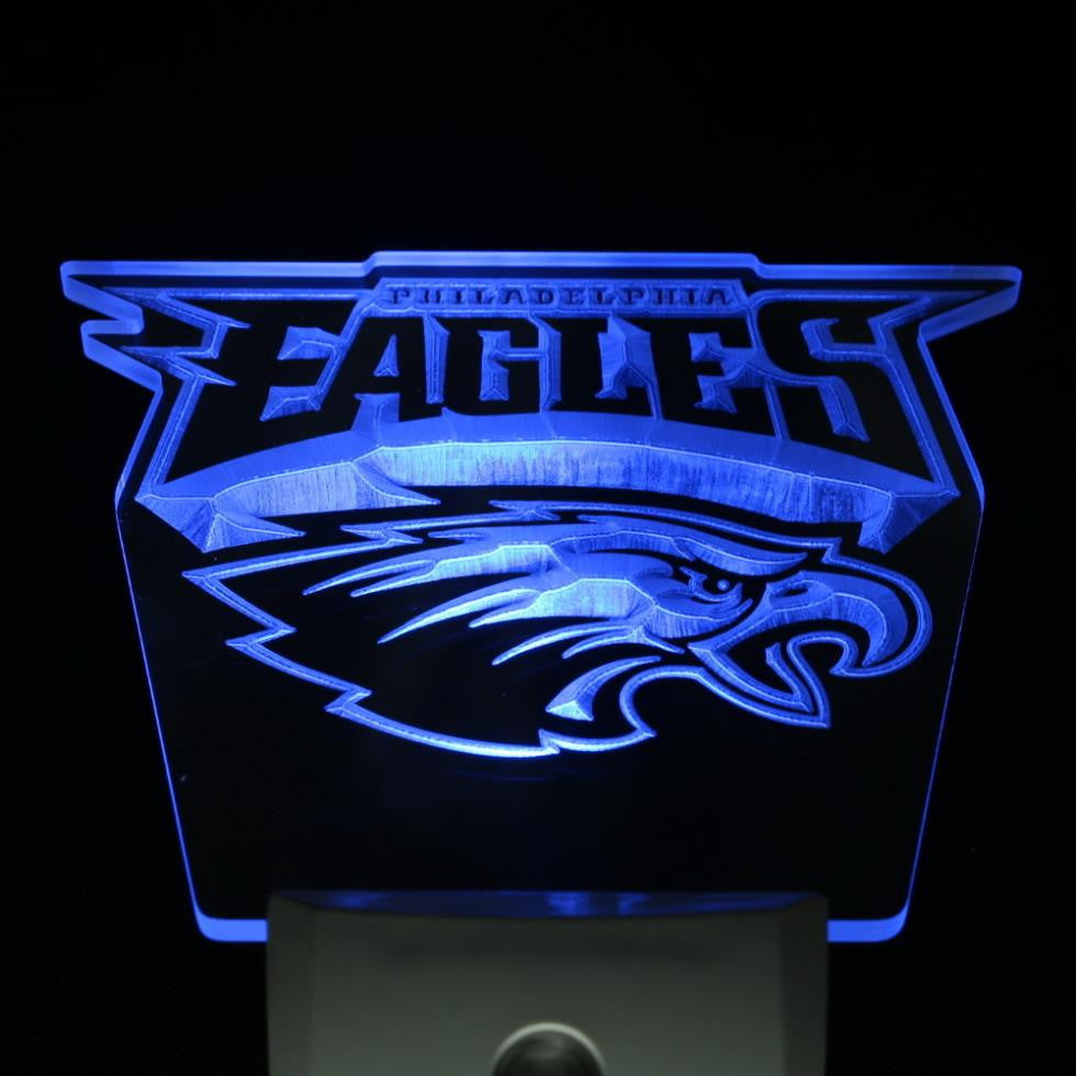 Philadelphia Eagles Football Day/ Night Sensor Led Night Light Sign