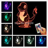 Charmander Pokemon 3D LED LAMP -  - TheLedHeroes