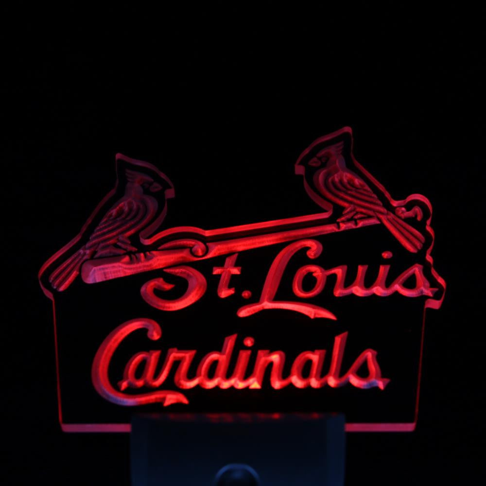 St. Louis Cardinals Bar Pub Day/ Night Sensor Led Night Light Sign