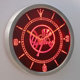 New York Yankees Neon Sign LED Wall Clock - FREE SHIPPING