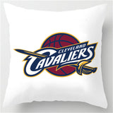 Cleveland Cavaliers Theme Retro Throw Square Pillowcase - FREE SHIPPING -  - TheLedHeroes