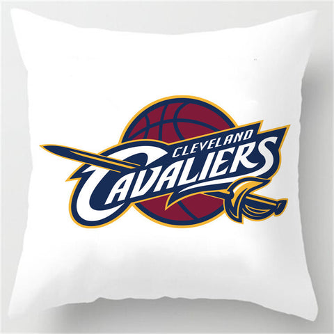 Cleveland Cavaliers Theme Retro Throw Square Pillowcase - FREE SHIPPING