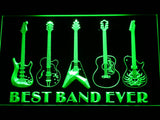 Guitar Weapon Best Band Ever LED Sign