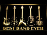Guitar Weapon Best Band Ever LED Sign - Multicolor - TheLedHeroes