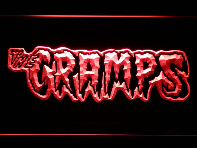 The Cramps LED Sign - Red - TheLedHeroes