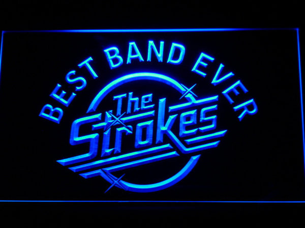 The Strokes Best Band Ever LED Neon Sign with On/Off Switch 7 Colors to choose