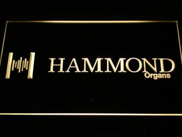 Hammond Organs Keyboards Speaker LED Sign - Multicolor - TheLedHeroes