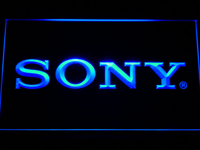 Sony LED Sign - Blue - TheLedHeroes