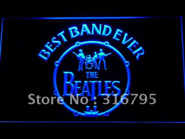 The Beatles Best Band Ever 2 LED Sign