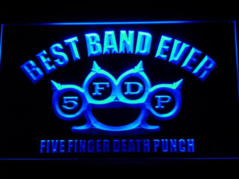 5FDP Best Band Ever LED Sign