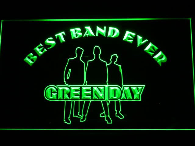 Green Day Best Band Ever LED Sign -  - TheLedHeroes