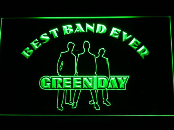 Green Day Best Band Ever LED Neon Sign