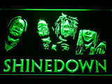 Shinedown 2 LED Sign - Green - TheLedHeroes