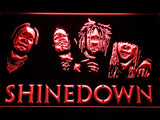 Shinedown 2 LED Sign - Red - TheLedHeroes