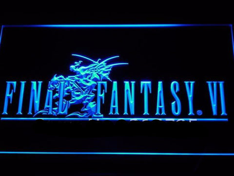Final Fantasy VI LED Neon Sign