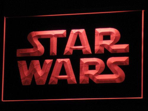 Star Wars LED Sign - Red - TheLedHeroes