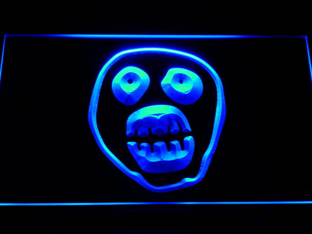 Mighty Boosh 2 LED Sign - Blue - TheLedHeroes