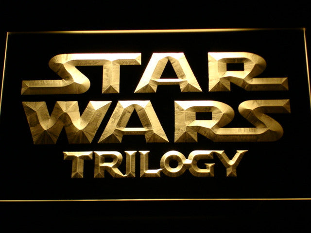 Star War Trilogy LED Sign - Multicolor - TheLedHeroes
