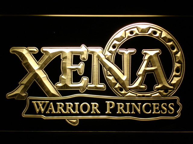 Xena Warrior Princess LED Sign - Multicolor - TheLedHeroes
