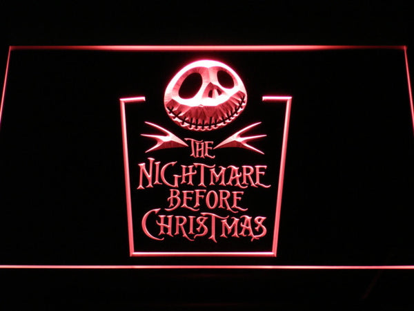 Nightmare before Christmas LED Sign