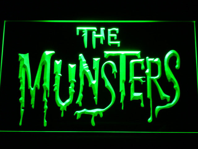 The Munsters LED Sign - Green - TheLedHeroes