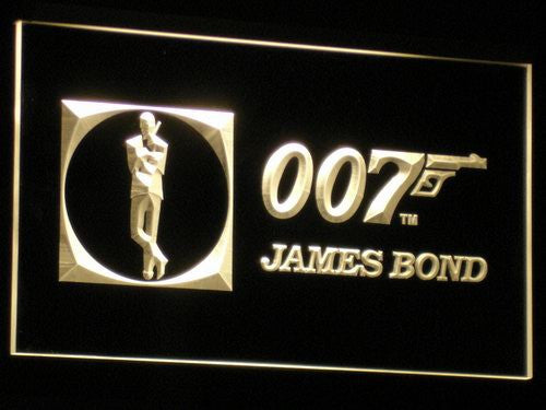 James Bond 007 LED Sign - Multicolor - TheLedHeroes