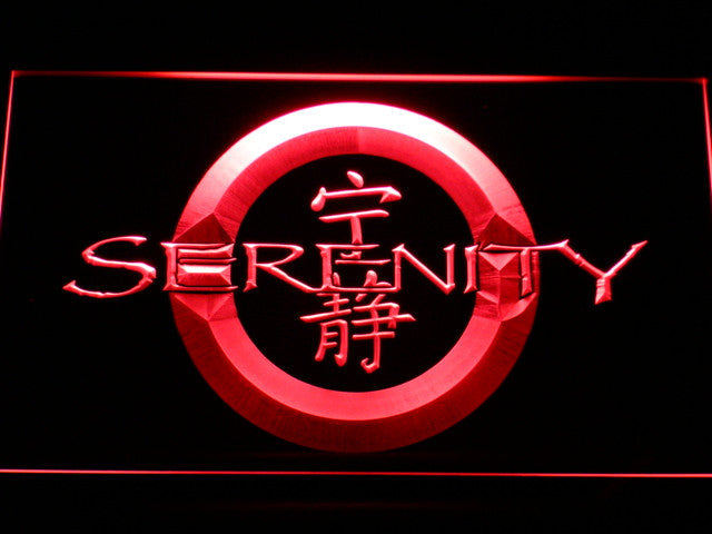 Firefly Serenity LED Sign - Red - TheLedHeroes
