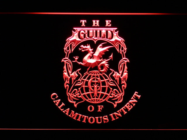 Venture Brothers Guild LED Sign - Red - TheLedHeroes