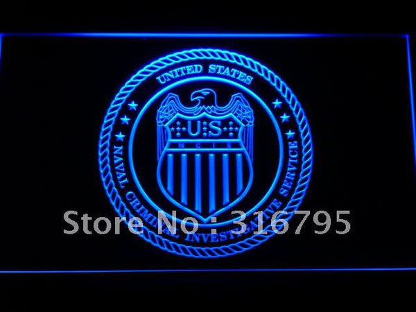 NCIS Naval Criminal Investigative LED Sign
