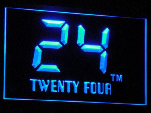24 Twenty Four Jack LED Sign - Blue - TheLedHeroes