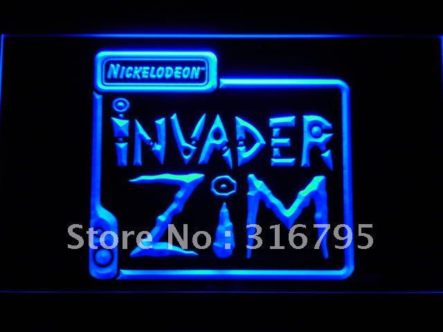 Invader Zim LED Sign -  - TheLedHeroes