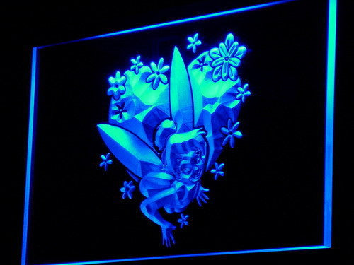 Tinkerbell LED Sign - Blue - TheLedHeroes