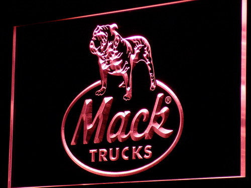 Mack Dog LED Sign