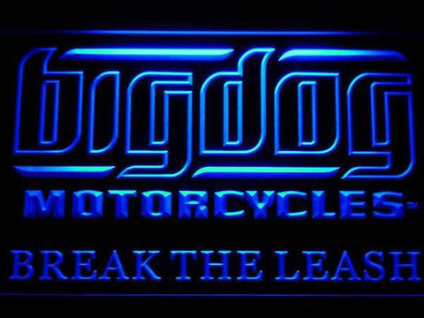 Big Dog Motorcycle LED Neon Sign
