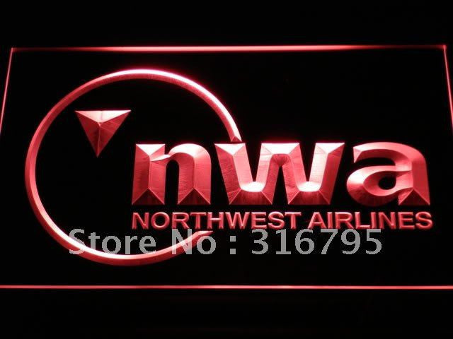 Northwest Airlines LED Sign