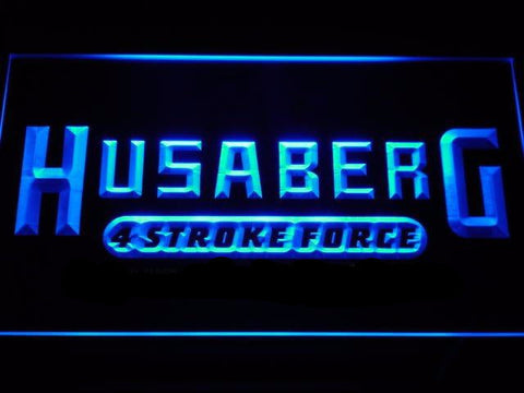 Husaberg Motorcycle Bike LED Neon Sign