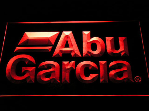 Abu Garcia Fishing LED Neon Sign with On/Off Switch 7 Colors to choose