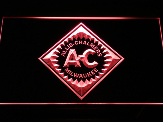ALLIS CHALMERS Tractor LED Sign - Red - TheLedHeroes