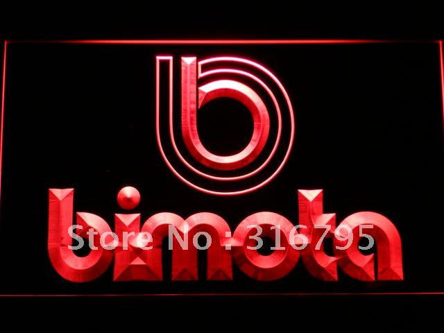 Bimota LED Sign - Red - TheLedHeroes