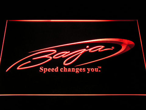 Baja Boat Fishing Logo LED Neon Sign with On/Off Switch 7 Colors to choose