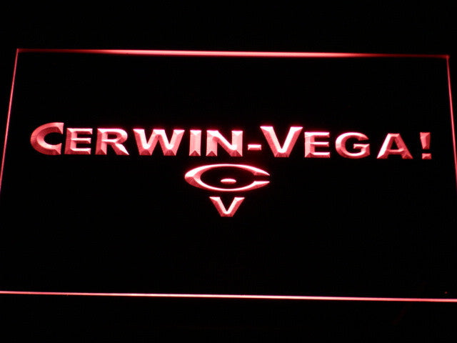 Cerwin Vega Audio Home Theater LED Sign - Red - TheLedHeroes