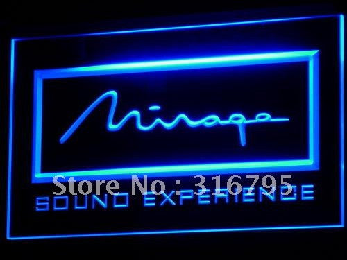 Mirage Loudspeaker System Audio LED Sign -  - TheLedHeroes