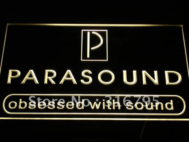FREE Parasound Audio Theater System LED Sign -  - TheLedHeroes