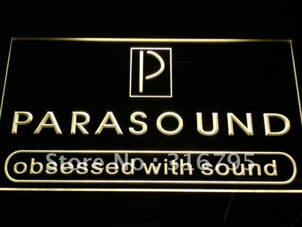 Parasound Audio Theater System LED Neon Sign
