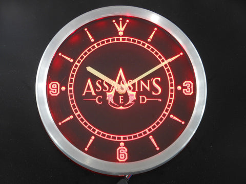 Assassins Creed LED Wall Clock -  - TheLedHeroes