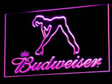 Budweiser Exotic Dancer Stripper Bar LED Sign - Purple - TheLedHeroes